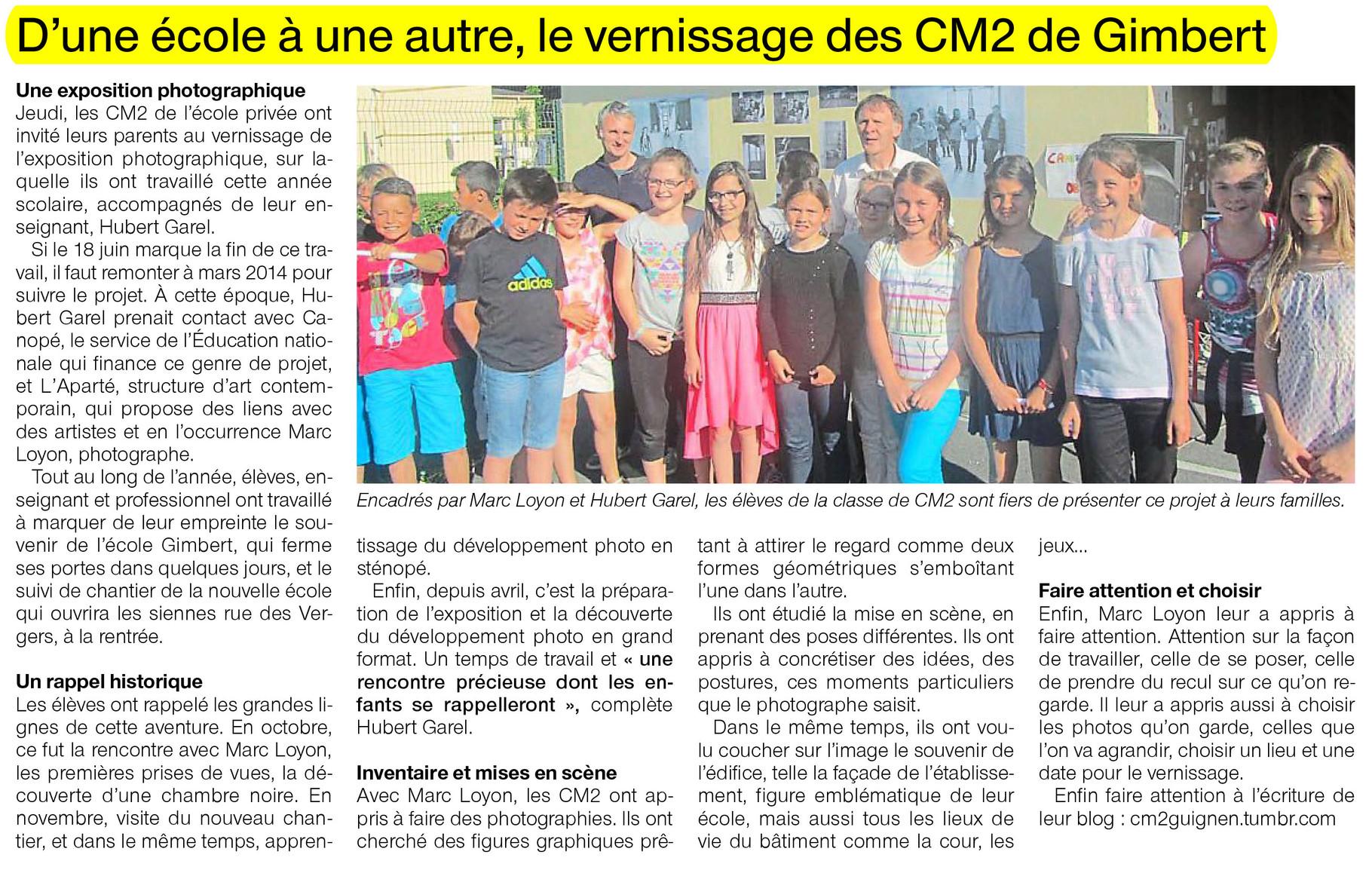 Ouest-France - 22 juin 2015