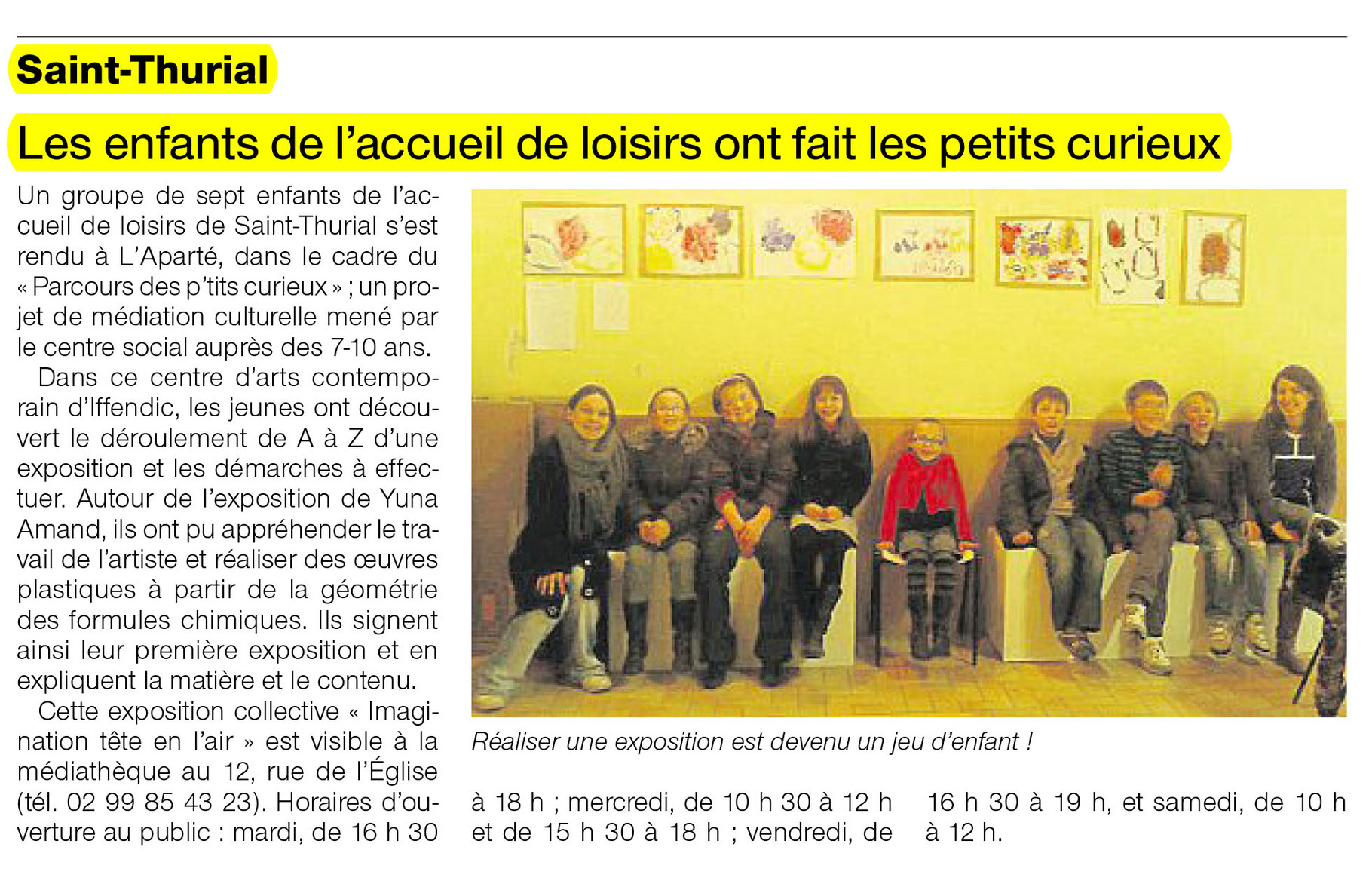Ouest-France - 4 avril 2012