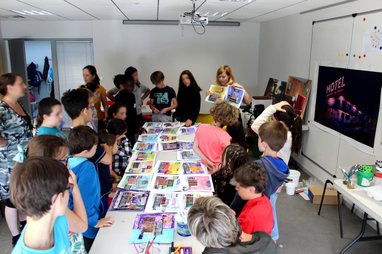 Rencontre avec Julie Giraud - classe de CM1-CM2 de l'école élémentaire Les 3 rivières de Breteil