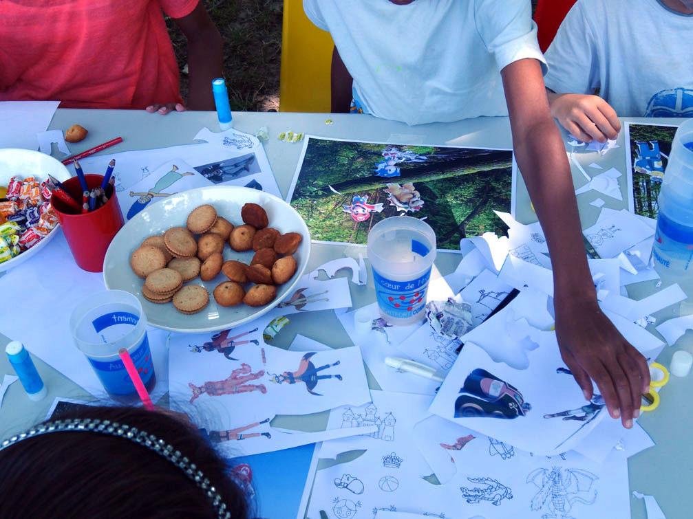 Goûter artistique en famille du 18 juillet 2014
