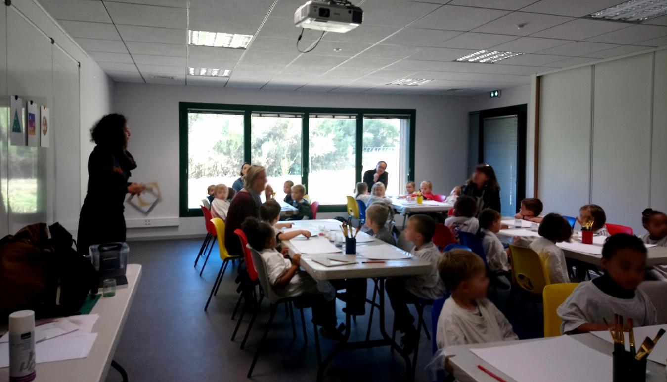 Classe de MS de l'école Saint-Michel de Bédée
