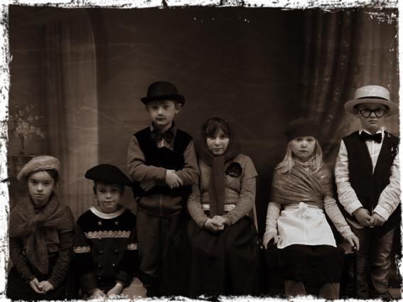 Photo de famille - CE1 école élémentaire publique Fée Viviane Iffendic