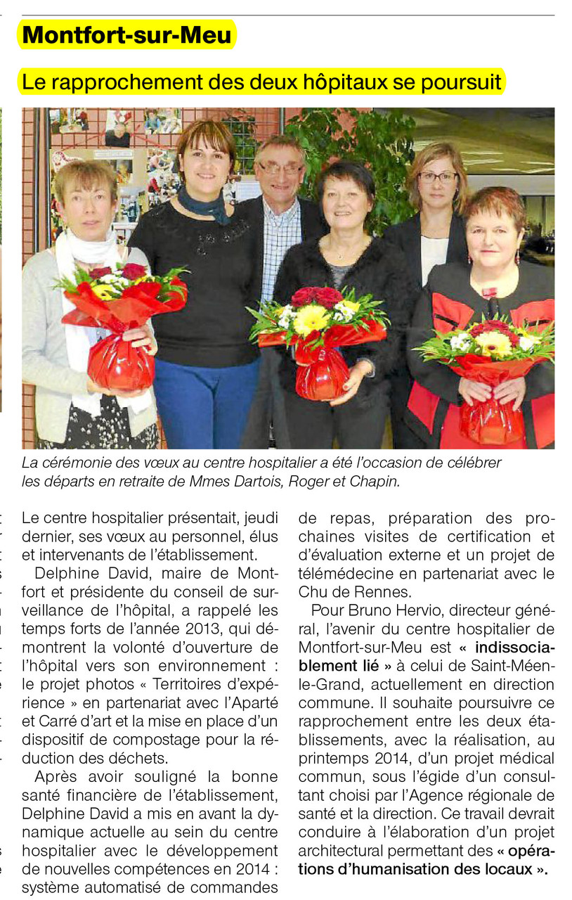 Ouest-France - 29 janvier 2014