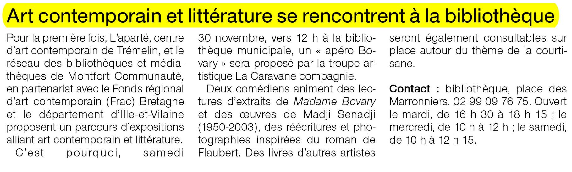 Ouest-France  - 28 novembre 2013