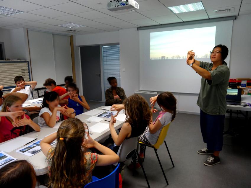 Classe de CM2 de l'école élémentaire publique la Fée Viviane, Iffendic
