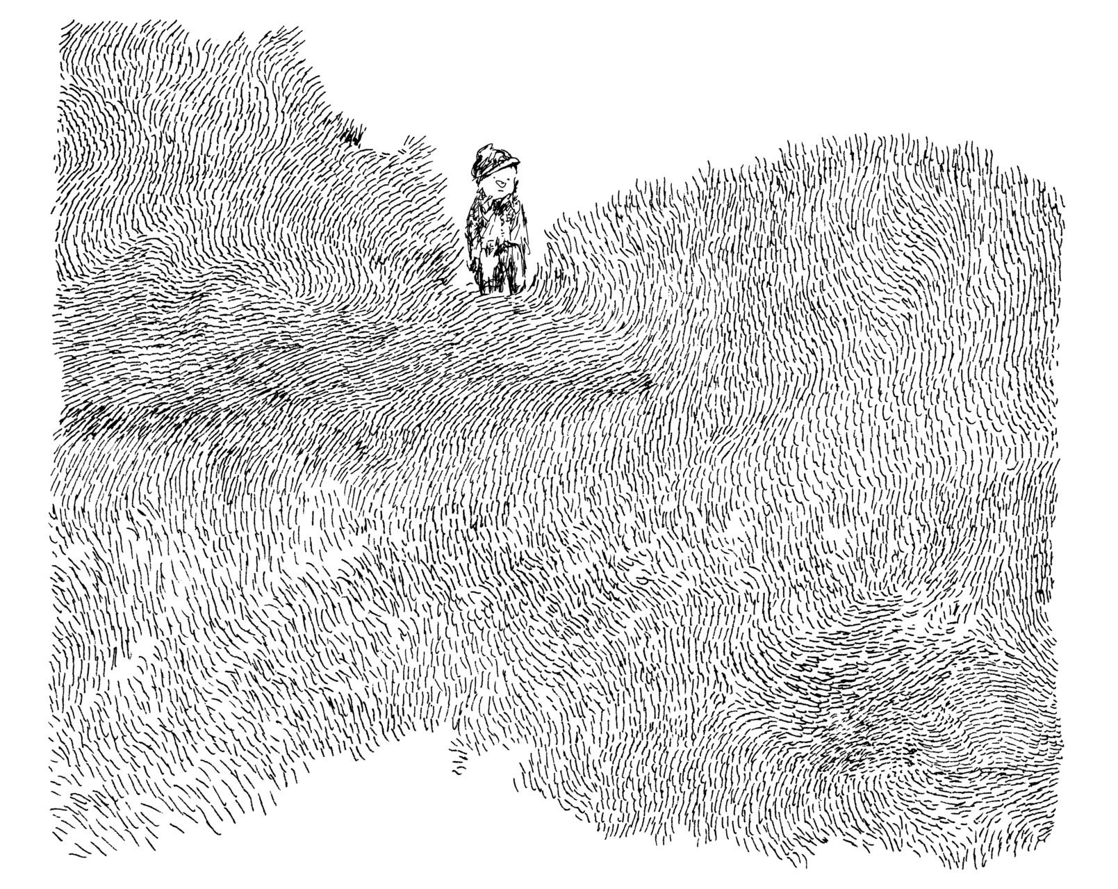 Nylso, Trancher, dessin, 2014