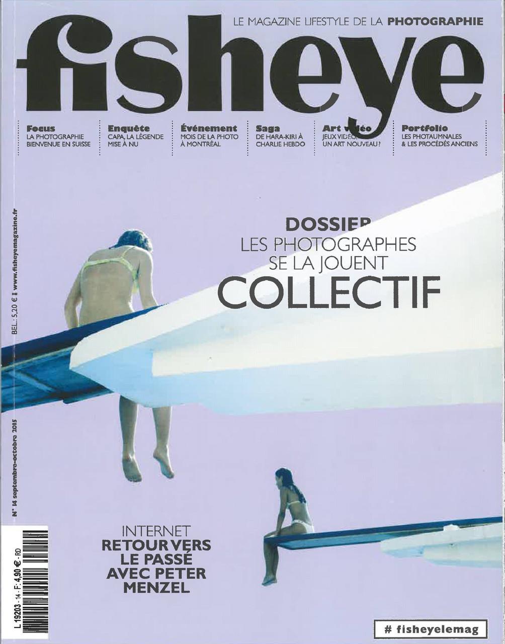 """Article Fisheye septembre-octobre 2015 """"Les Photaumnales revisitent les procédés anciens"""""""