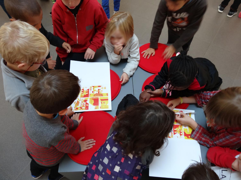 Classe de CP écoles publiques du Moulin à Vent et du Pays Pourpré Montfort-sur-Meu