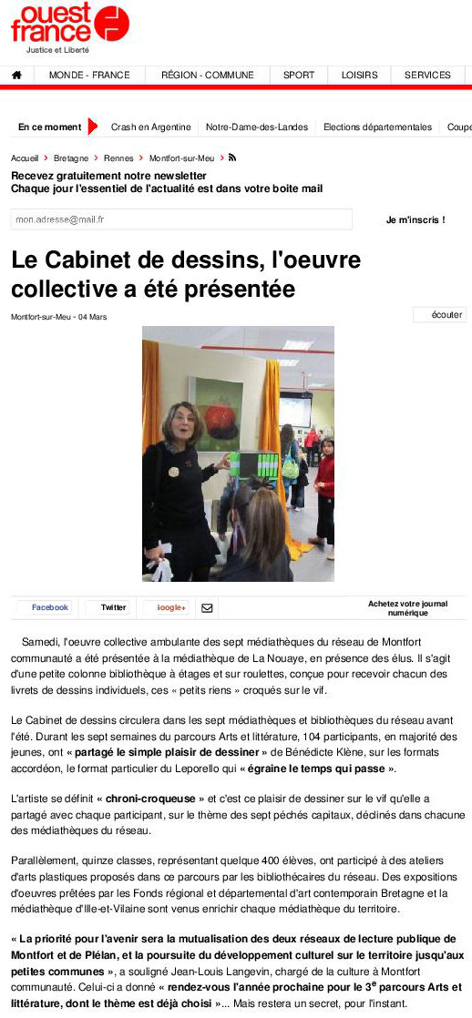 Ouest-France - 4 mars 2015