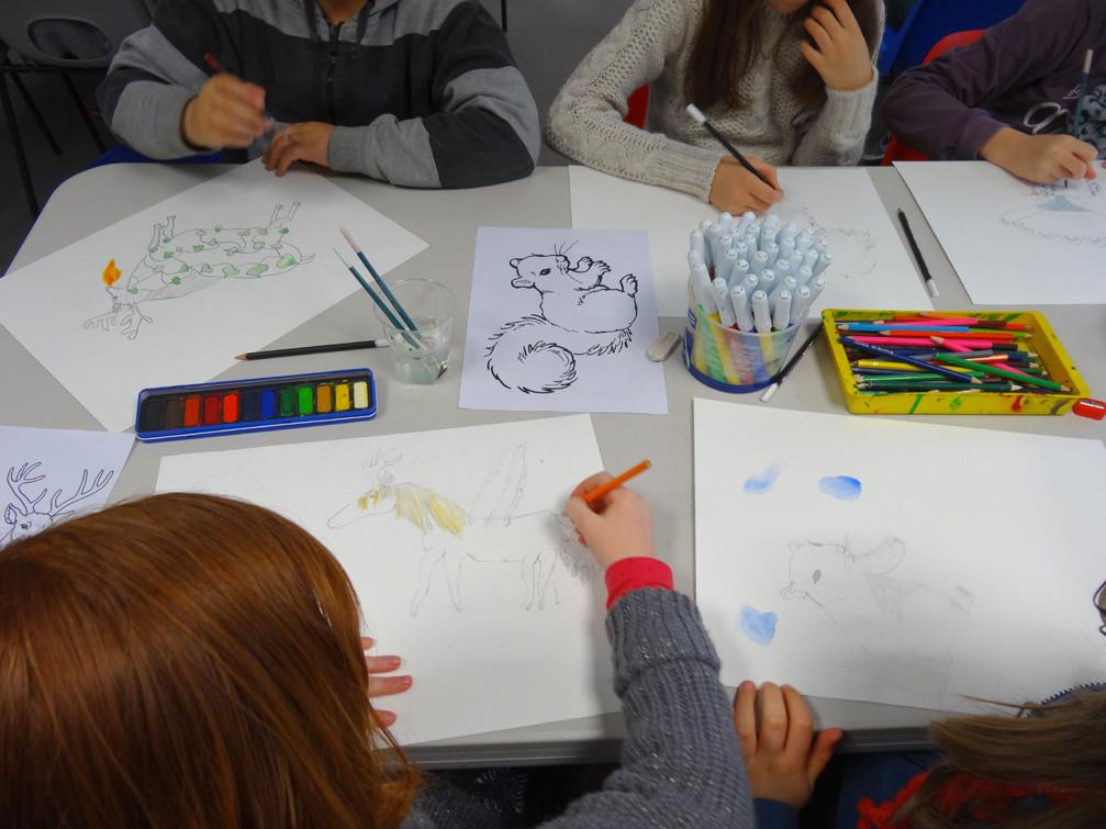 CE2-CM1 école élémentaire publique du Moulin à Vent, Montfort-sur-Meu
