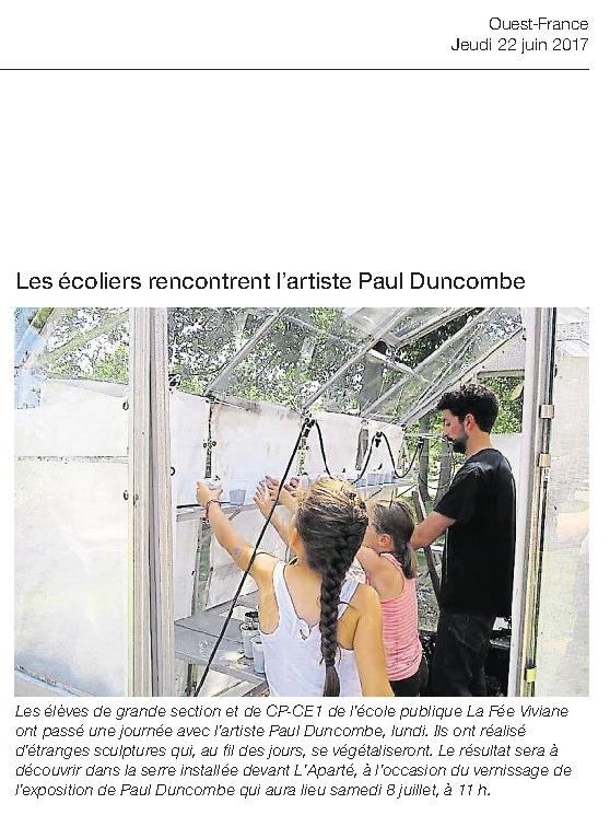 Ouest-France du jeudi 22 juin 2017