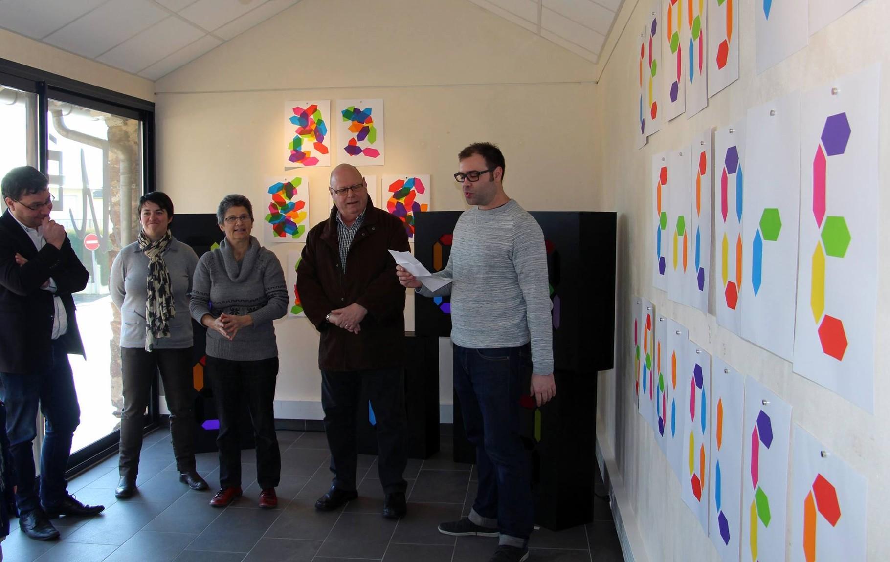 Vernissage de l'exposition Julien Duporté, G.A.G, 2016