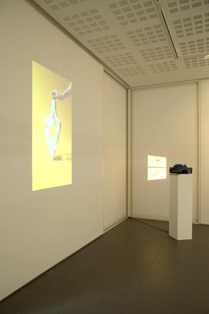 Vue de l'exposition Fiction souterraine