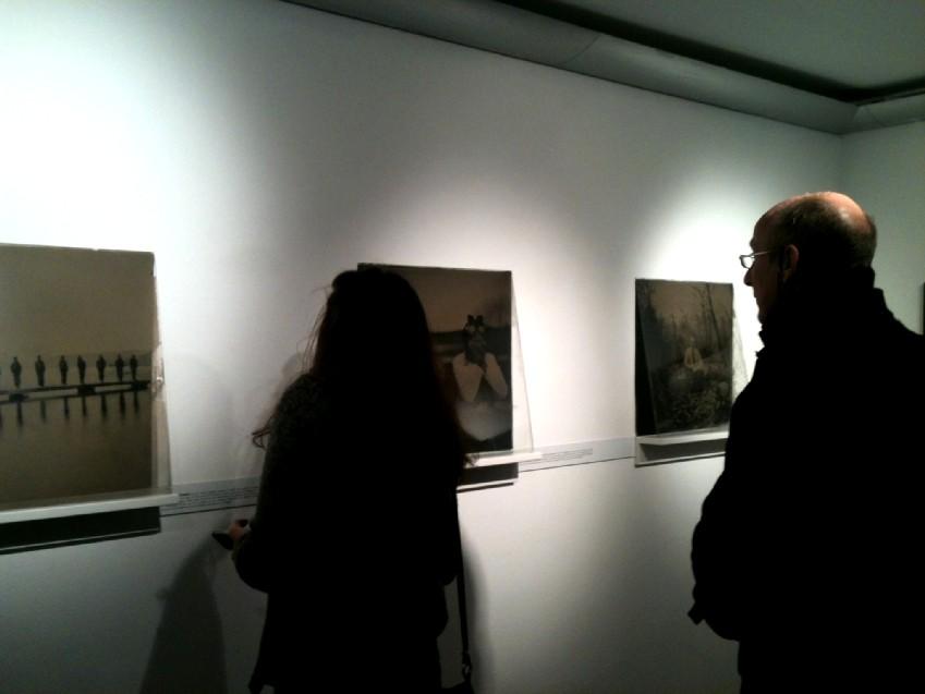 Vernissage de l'exposition Territoires d'expériences.