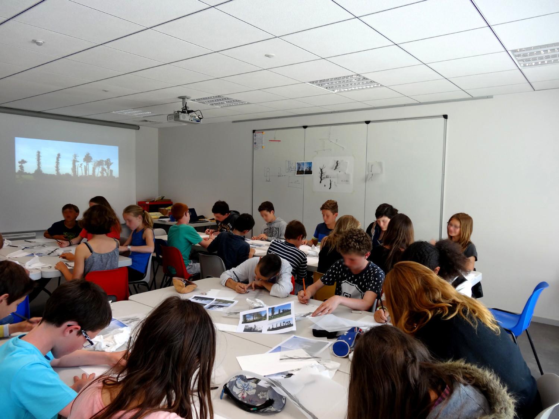 Classe de 4ème du collège Louis Guilloux, Montfort-sur-Meu