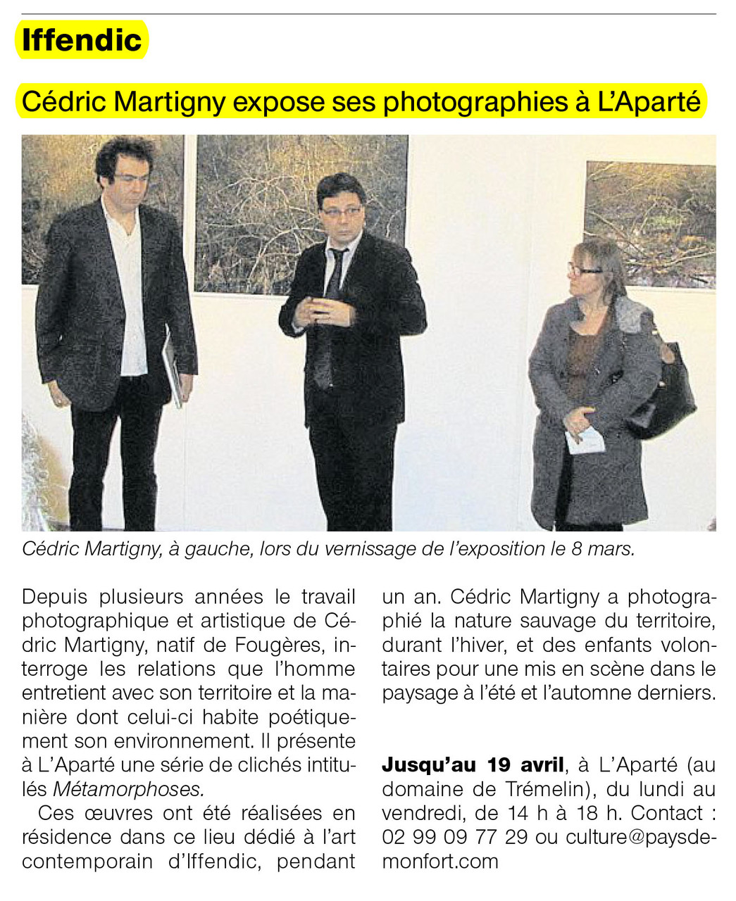 Ouest-France - 19 mars 2013