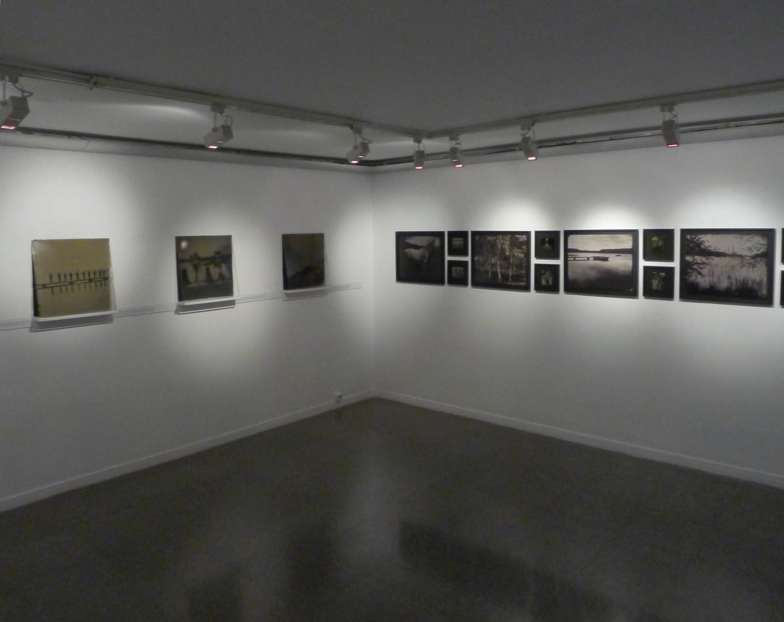 Vue des oeuvres d'Israel Ariño et Delphine Dauphy. DR Israel Ariño