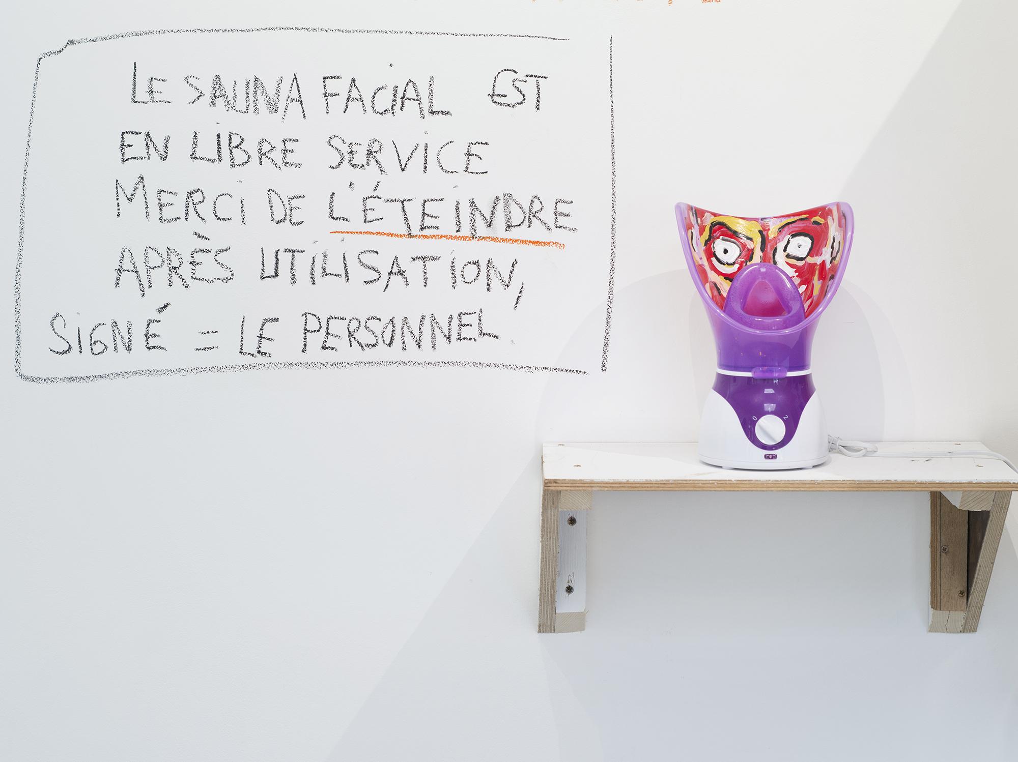 Vues de l'xposition Anaïs Touchot, J'y laisserai ma vieille peau. Photo : Vincent Malassis