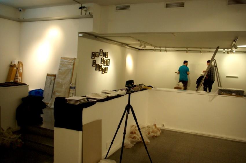 Installation de l'exposition Territoires d'expériences. DR Carré d'art