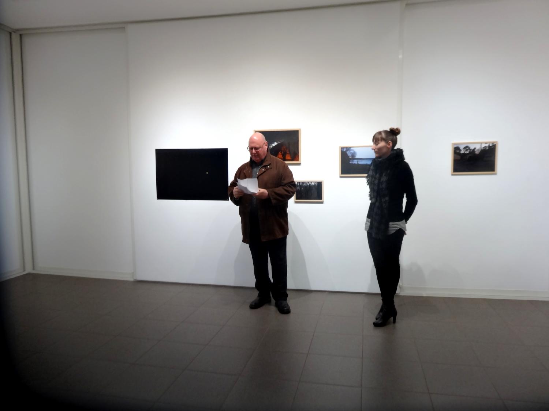 Vernissage de l'exposition Julie Meyer, Entre chien et loup