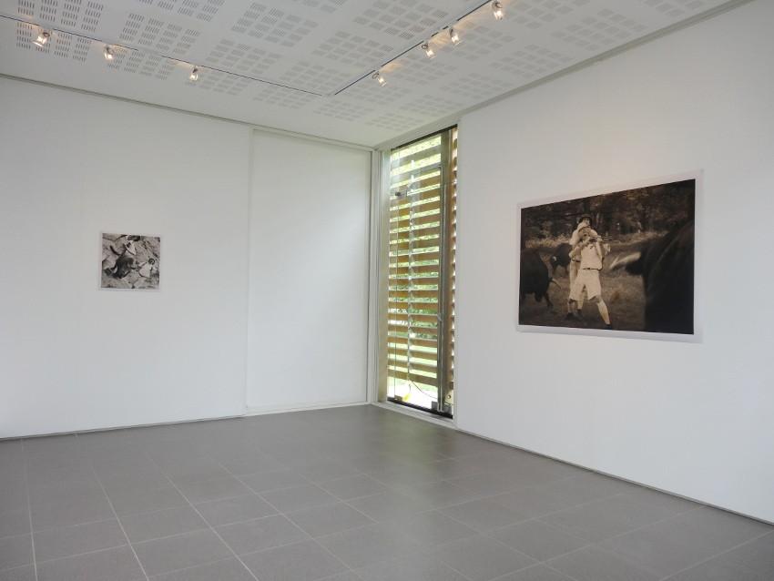 Vue de l'exposition, Allegorie Allegora, 2014. © L'aparté, lieu d'art contemporain.