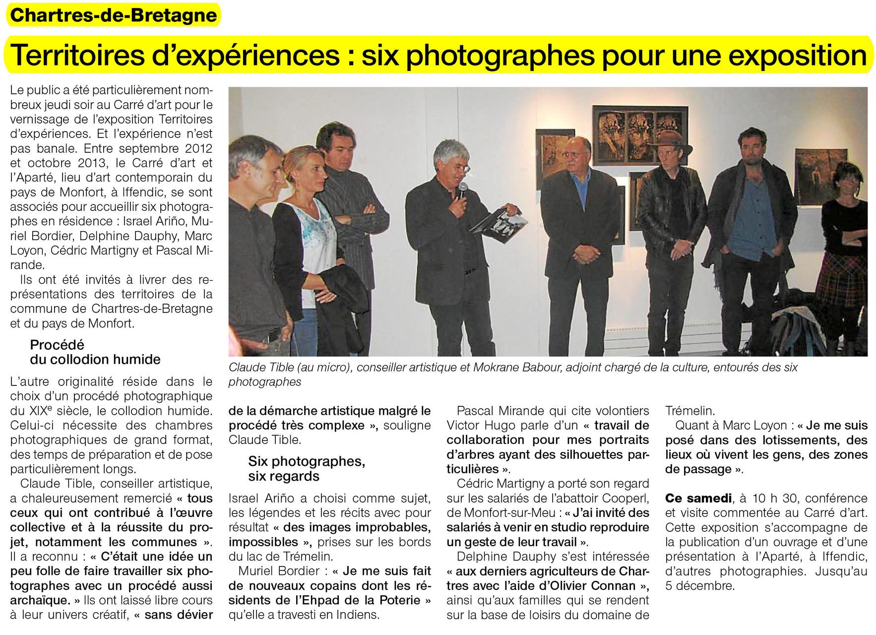 Ouest-France - 12 octobre 2013