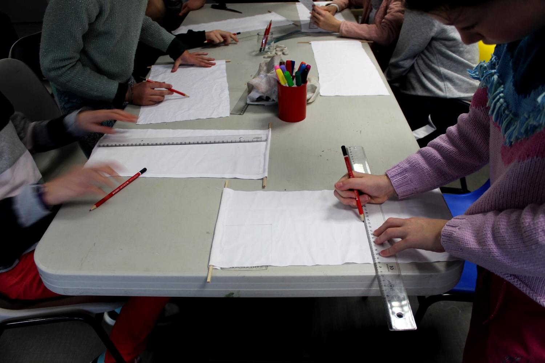 Visite-atelier - Classe de CM2 de l'école La Fée Viviane d'Iffendic
