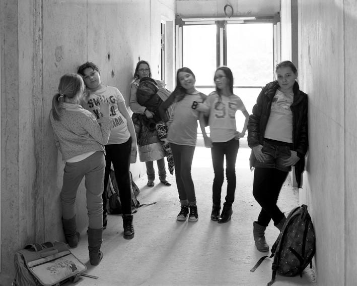 Photo : Marc Loyon, école Gimbert de Guignen, 15 mars 2015. DR