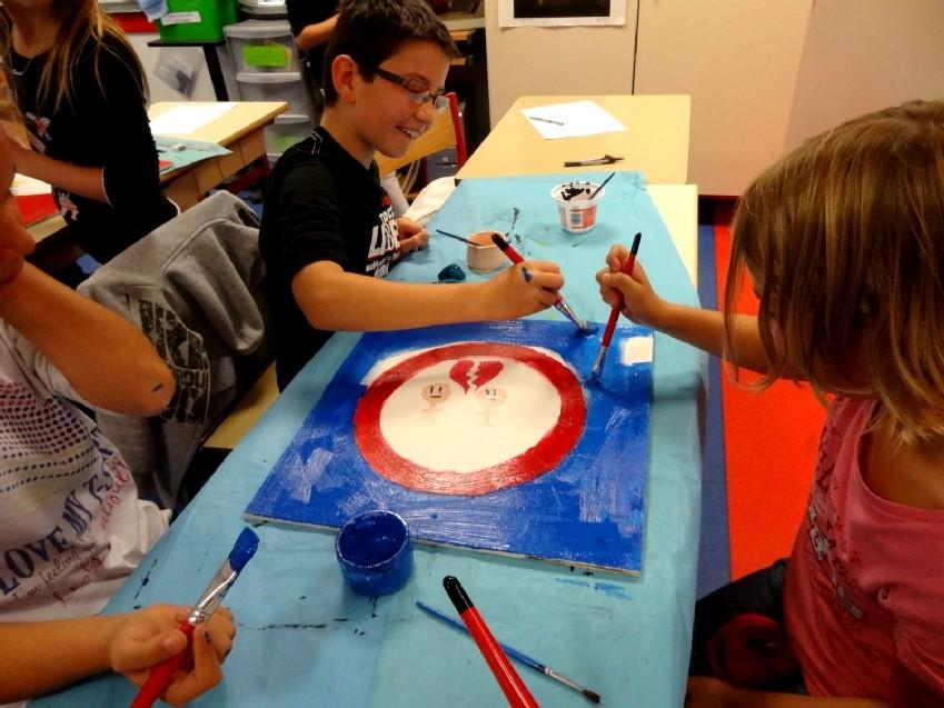 Rencontre-atelier avec Thomas Tudoux - CM2 Ecole élémentaire publique Moulin à Vent, Montfort-sur-Meu