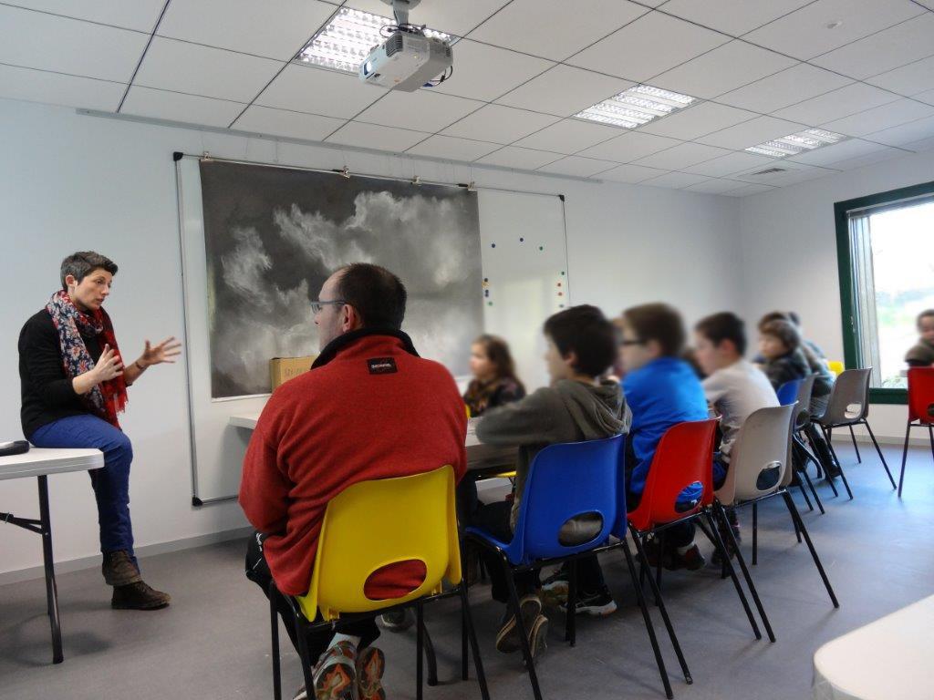 Rencontre avec Angélique Lecaille - classe de CM1 Pays Pourpré Montfort-sur-Meu