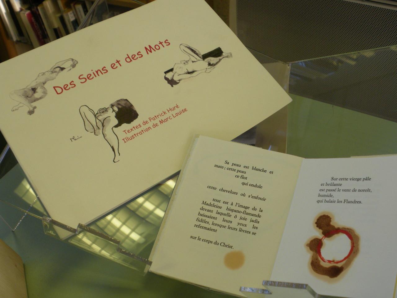 Livres d'artistes présentés à la bibliothèque de Bédée