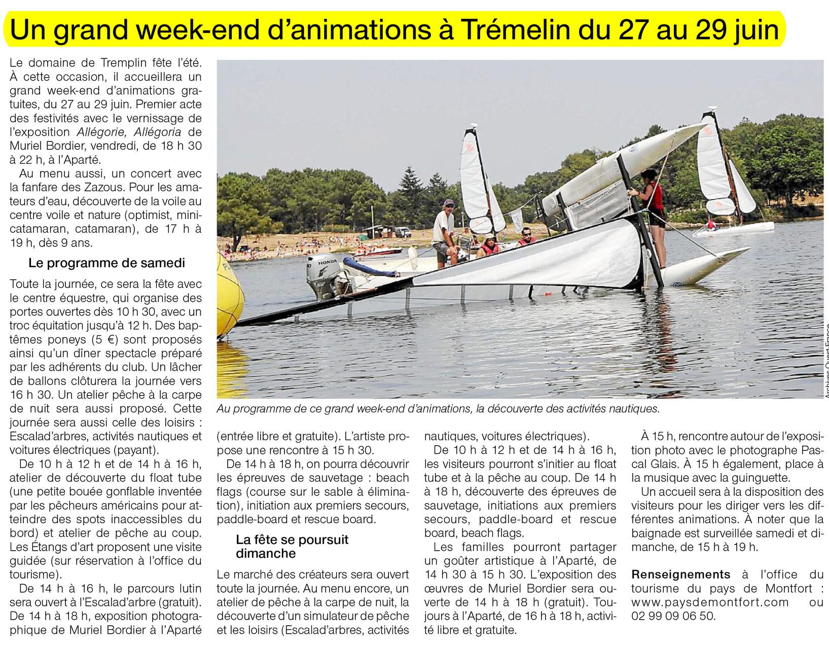 Ouest-France - 26 juin 2014
