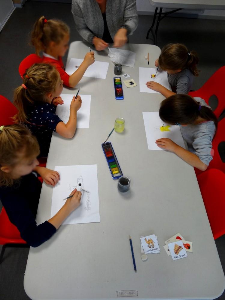 CP école élémentaire publique La Fée Viviane Iffendic