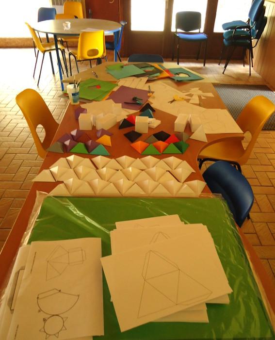 Préparation des ateliers de l'été autour de l'exposition de Jean-Benoit Lallemant, Data Mining