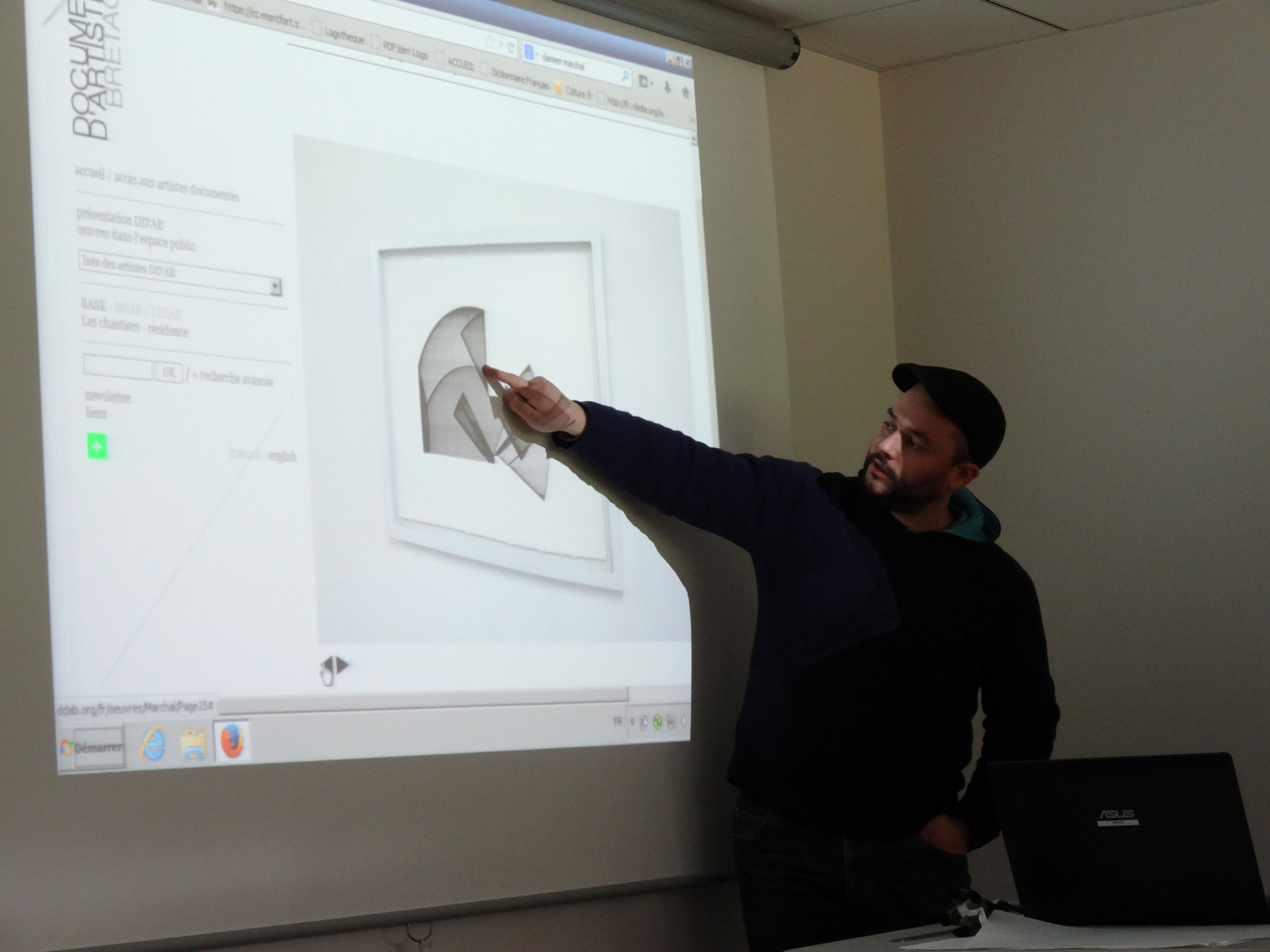 Rencontre avec Damien Marchal - CM2 école élémentaire publique de Bédée