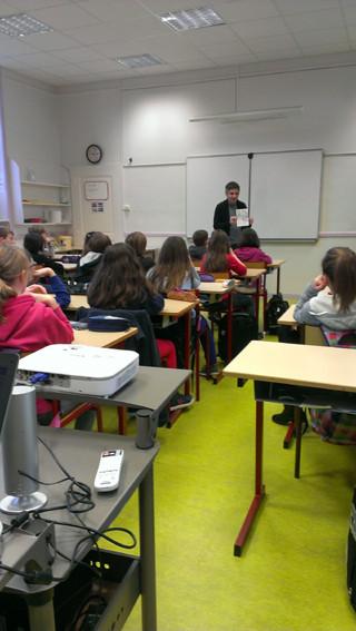Rencontre avec Nylso - CM2 de l'école publique de Bédée
