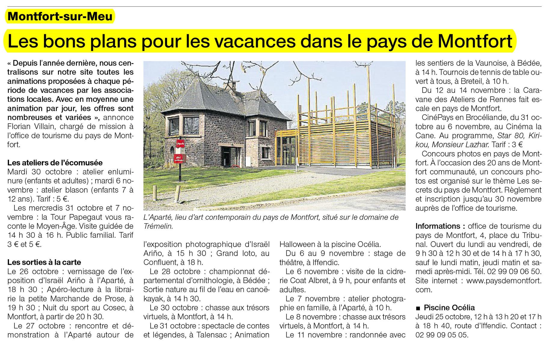 Ouest-France - 25 octobre 2012