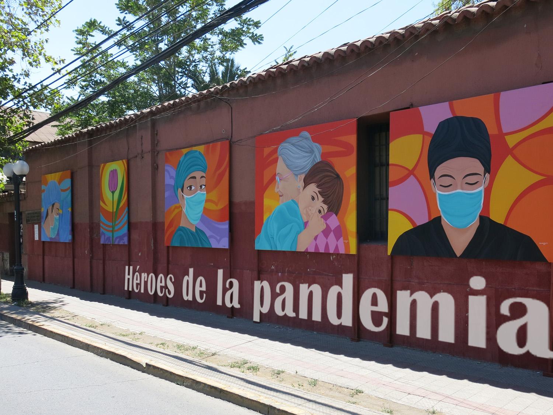 Murales por el Covid Arte por la pandemia