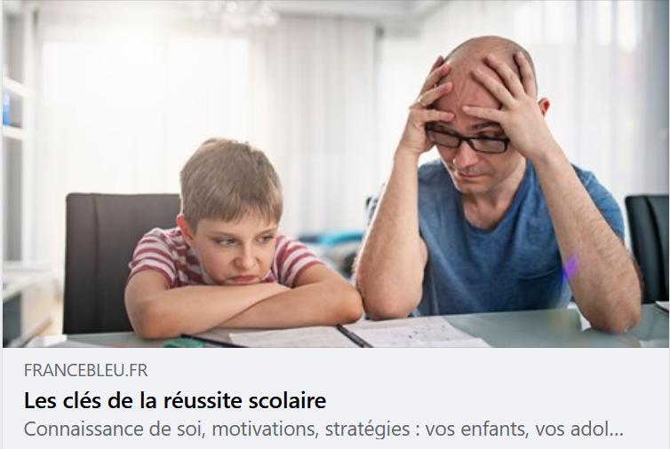 Les clés de la réussite scolaire sur France bleu
