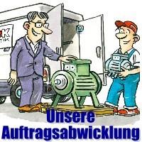 © Auftragsabwicklung der Firma Elektromotoren Reparaturwerk Rock in Abenberg: Reparaturen von Elektromotoren aller Art