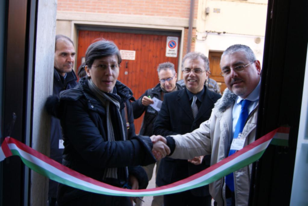 Saluto Assessore Sapigni, Presidente Martinelli