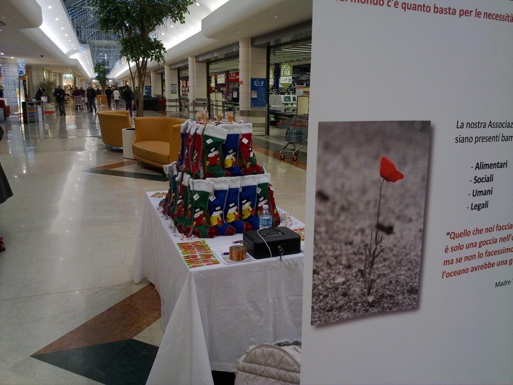 """Raccolta fondi Mercoledì 5 Gennaio 2011 - Centro commerciale """"Il Castello"""""""
