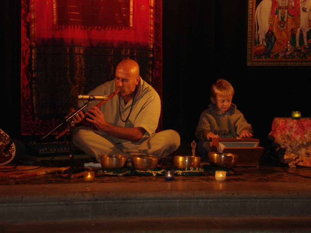 Flûte et Harmonium indiens