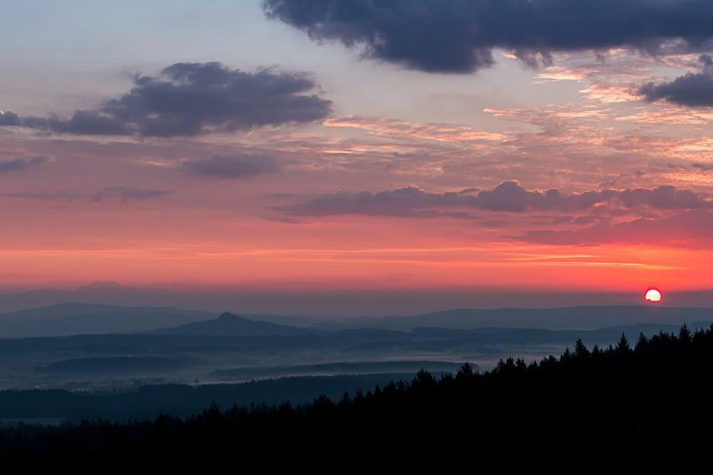 Morgendämmerung - SAISONSTART - es geht wieder los bei Cermeter!