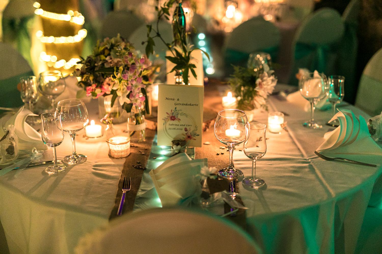 Hochzeitsfeier in Lich