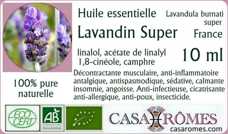 Huile essentielle Lavandin Super