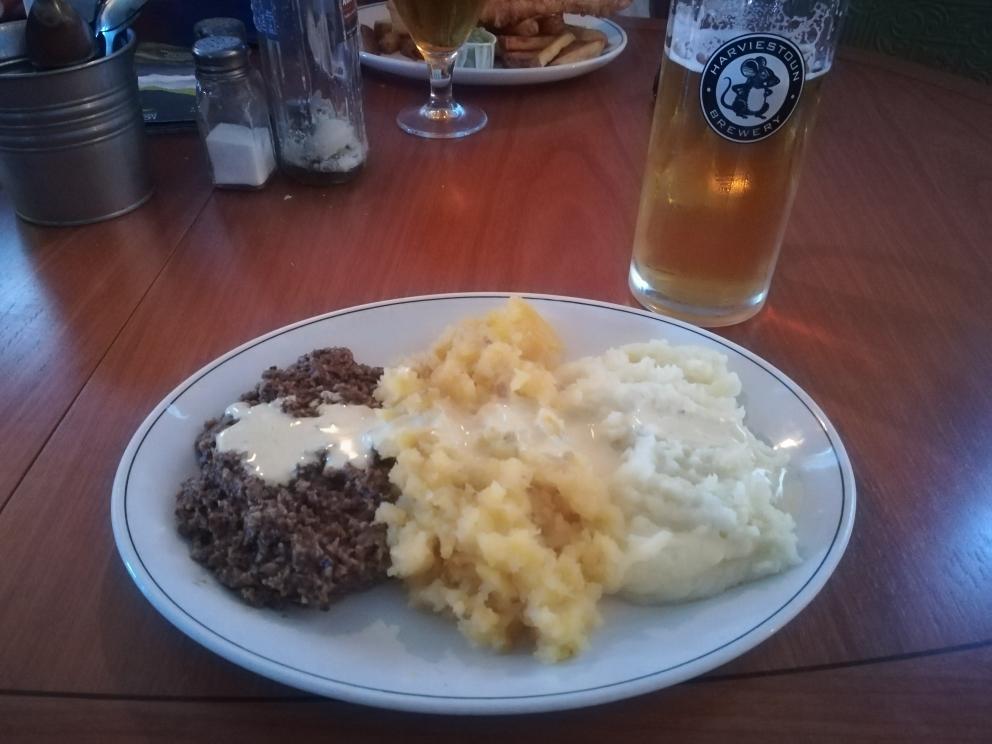 Haggis - Traditional scotishfood