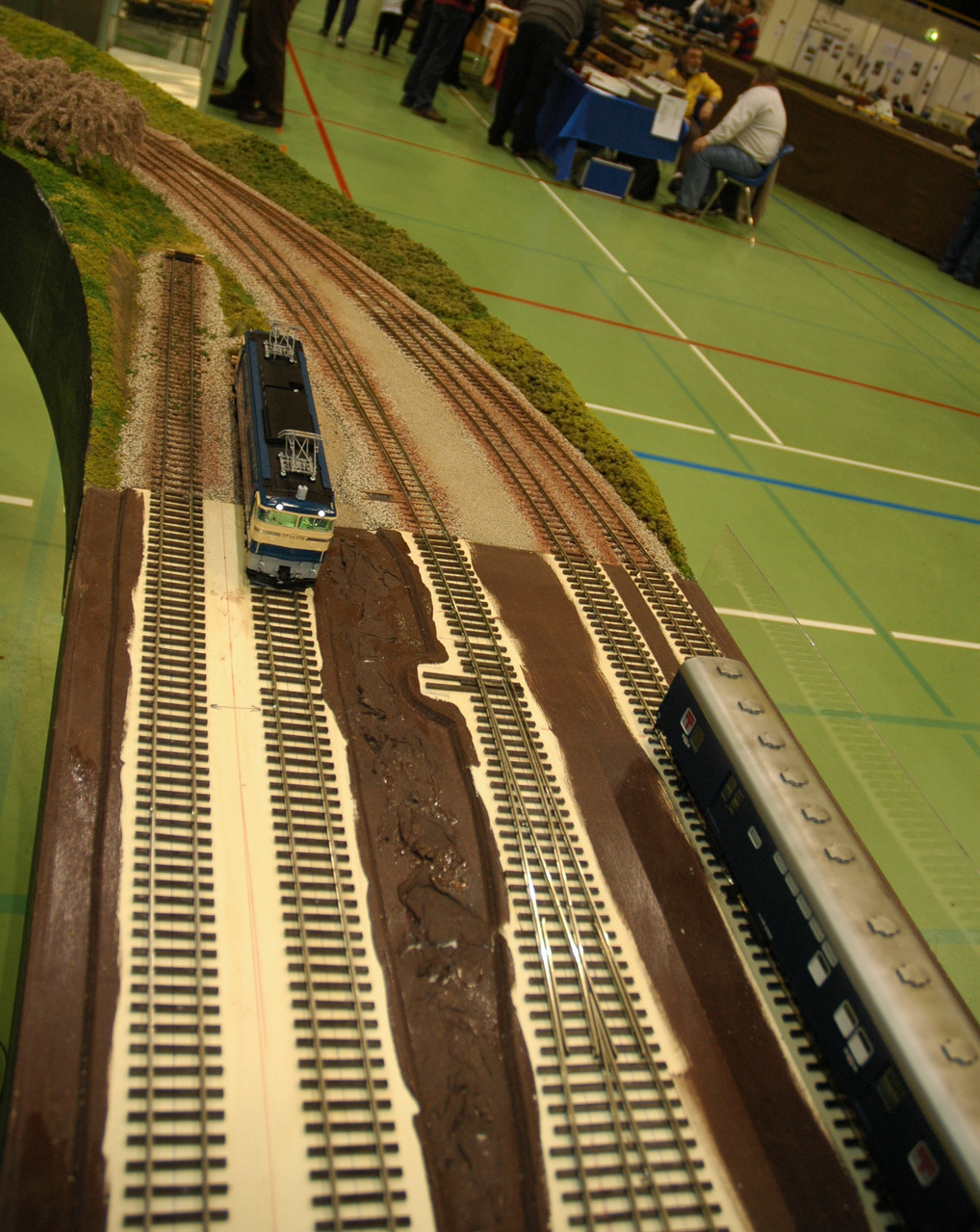 Budomura station as shown at the Olten 2013 show.