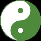 Das Yin-Yang-Zeichen
