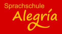 Logo der Sprachschule Alegría